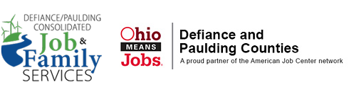 Defiance and Paulding Counties Job and Family Services Logo